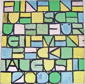 In Anlehung an Paul Klee