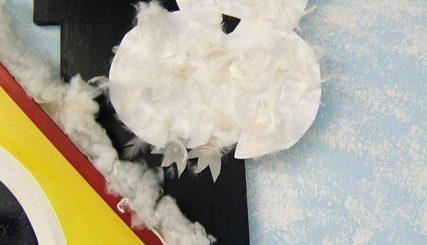 Schnee-Eulen im OG 2012