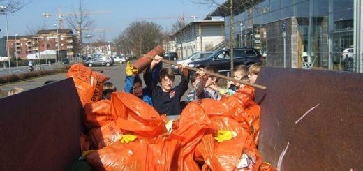 Müllaktion - Umwelttag 2012