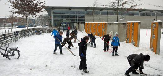 Schnee schaufeln 2013 - 4 Ams