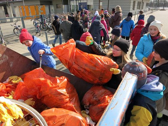 Müllaktion 2013