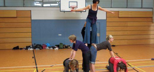 Zirkus-Fortbildung 2013 - Akrobatik