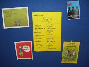 Bücherwoche 2011 - Auswahl
