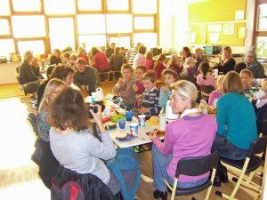 Erntedankfest 2011 - Frühstück