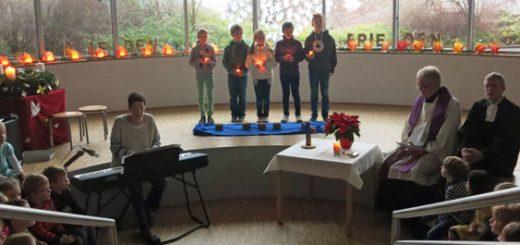 Adventsgottesdienst 2013 - Friedenslichter