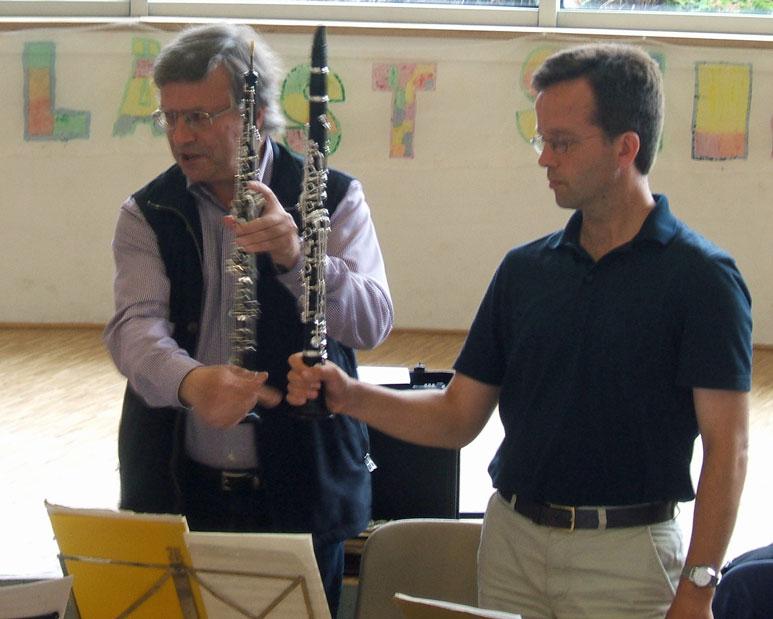 Holzbläser 2011 - Oboe und Klarinette