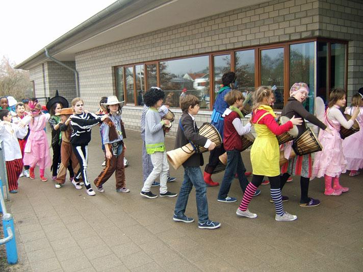 Karneval 2012 - Polonaise