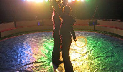 Zirkus 2013 - Probe Eltern Schwarzlicht