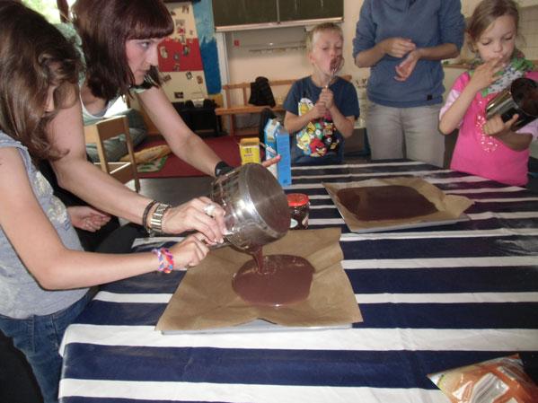 Schokolade herstellen im Og 2013