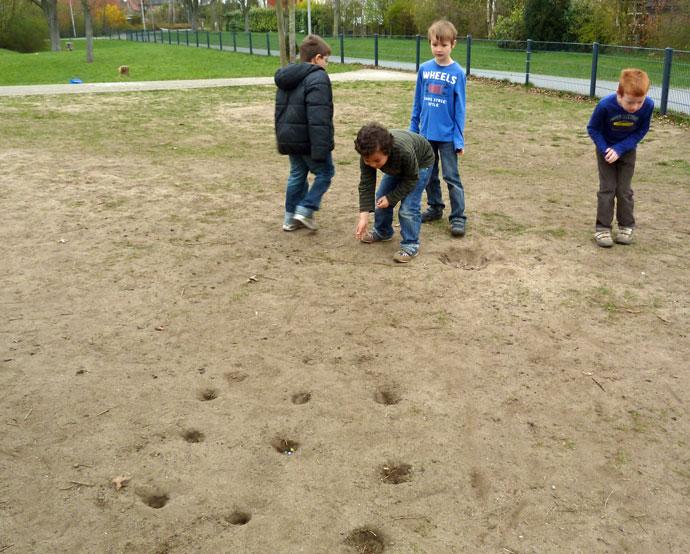 Frühlingsprojekt 2012 - Spiele