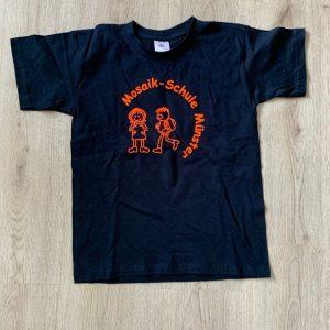 T-Shirt_dunkel-blau_orange