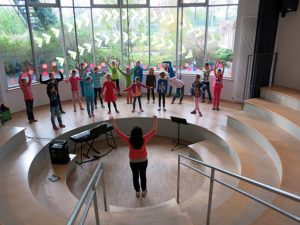 Frühlingsprojekt 2014 - Tanz dich fit