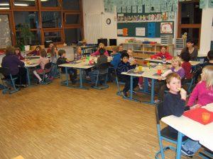Lesenacht 2011- Frühstück